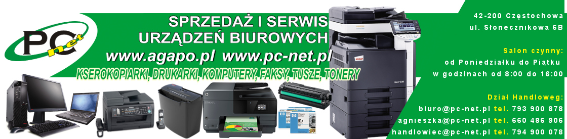 Serwis Naprawa drukarek kserokopiarek komputerów laptopów Częstochowa