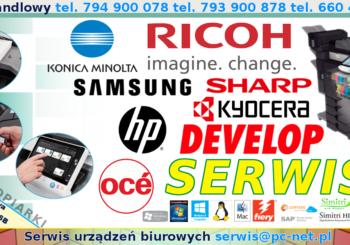 Serwis Kserokopiarek Częstochowa Konica Minolta Ricoh Develop Samsung Nashuatec Sharp Olivetti Kyocera Oce