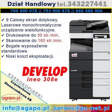 Develop ineo 308e/368e/458e
