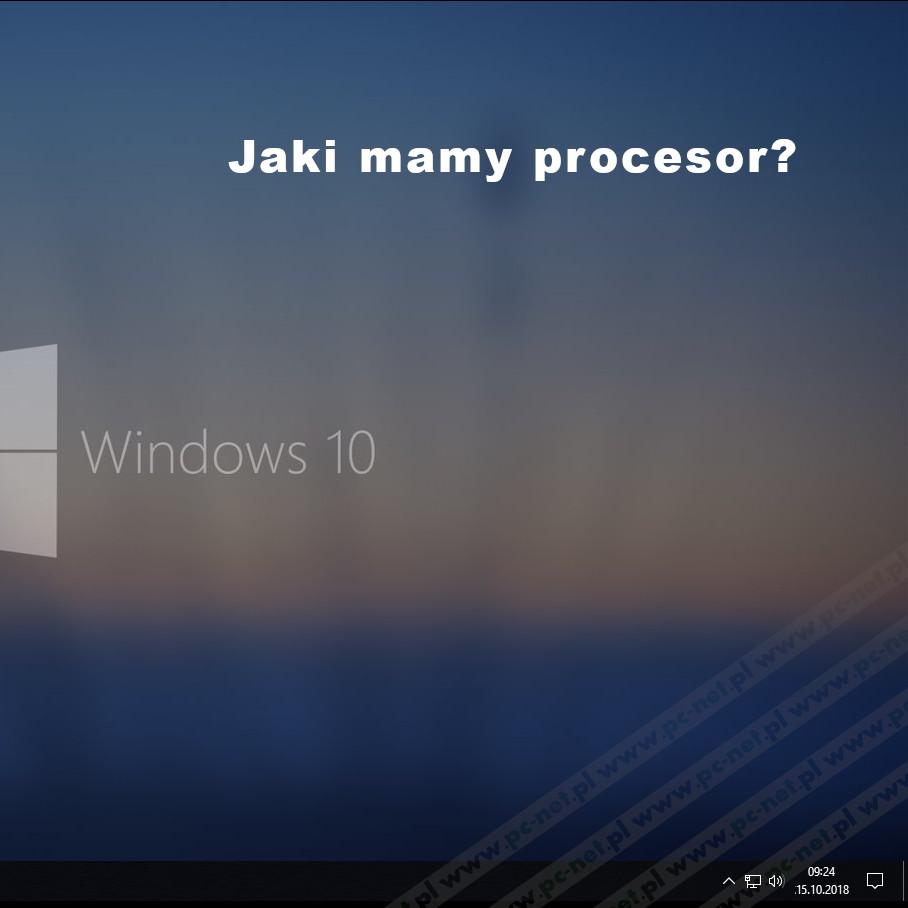 Wiersz Poleceń Windows 10 Jaki Mamy Procesor Serwis