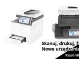 Nowe wielofunkcyjne urządzenia Ricoh